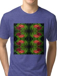Flowers of red Tri-blend T-Shirt
