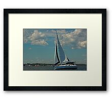 Perfect Day for a Sail Framed Print