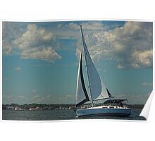 Perfect Day for a Sail Poster