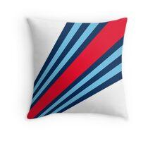 Martini Stripes  Throw Pillow