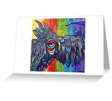 Street Wise Owl 2 Greeting Card