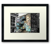 Manchester - Ride Low Framed Print