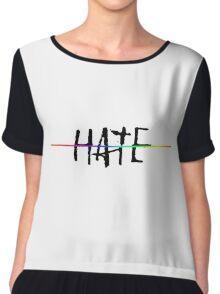 End Hate LGBT shirt Chiffon Top