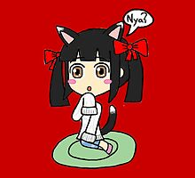 Dynasty Warriors - Da Qiao Kitty-fied  by gaming123456