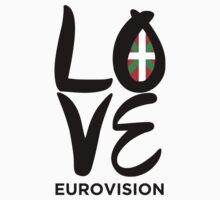 LOVE Eurovision [Basque Country] Baby Tee