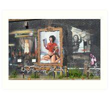 Brighton Street Art Art Print