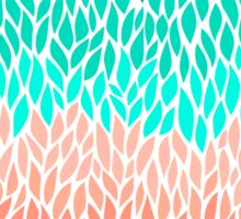 Coral Mint Ombre Sticker