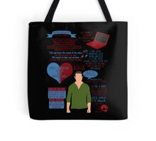 Peter Hale Quotes Tote Bag