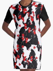 chooks Graphic T-Shirt Dress