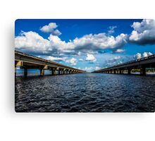 interstate 10 Canvas Print