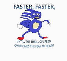 Sanic - Thrill of Speed Unisex T-Shirt