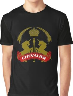 The Chevalier Coat-of-Arms Graphic T-Shirt