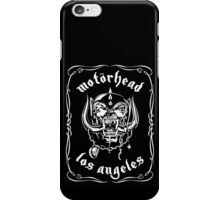 Motorhead (Los Angeles) iPhone Case/Skin