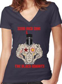 VMM-264 LPD Deployment Women's Fitted V-Neck T-Shirt