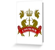 The Cavalier Coat-of-Arms Greeting Card