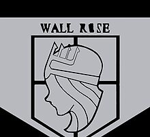 Wall rose by Blankness