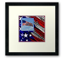 July Beginnings,Freedom Flys Framed Print