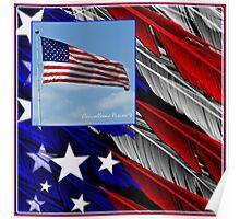 July Beginnings,Freedom Flys Poster