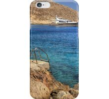Anchored for the night iPhone Case/Skin