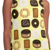 Donuts Yellow Contrast Tank