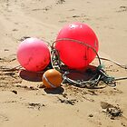 Beach Debris, Tolsta Beach, Isle of Lewis by MidnightMelody