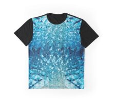Blue water in crystals Graphic T-Shirt