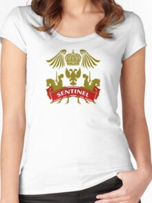 The Sentinel Coat-of-Arms Women's Fitted Scoop T-Shirt
