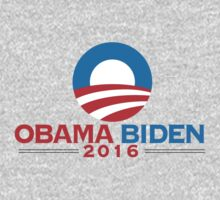 Obama-Biden 2016 Presidential Re-Election Campaign Gear One Piece - Long Sleeve