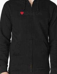 I Heart Atheist Girls T-Shirt