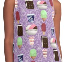 Frozen Sweets Purple Contrast Tank