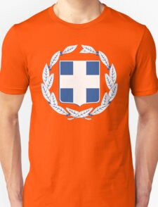 Greece Coat Of Arms Unisex T-Shirt