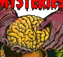 Weird Mysteries Comic cover Sticker