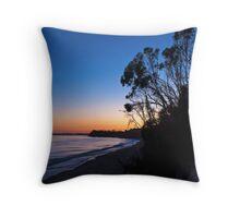 More Mesa Silhouettes Throw Pillow
