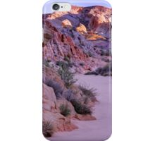 Sunrise Over Valley Of Fire Wash - Nevada iPhone Case/Skin
