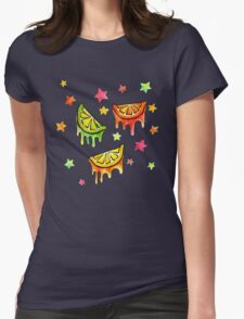 Fruit Stars Womens Fitted T-Shirt
