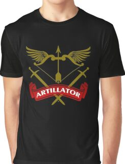 The Artillator Coat-of-Arms Graphic T-Shirt