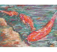 Koi (pastel) Photographic Print