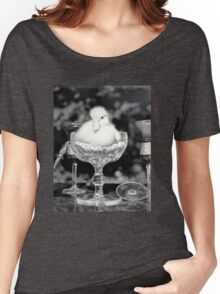 Duck in a Cup  Women's Relaxed Fit T-Shirt