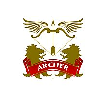 The Archer Coat-of-Arms Photographic Print
