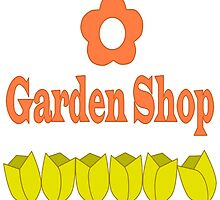 Garden Shop Logo by TheFoxyAssassin