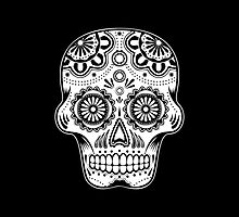 Mexican Skull 01 by PETER CULLEY