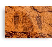 Intestine Man Pictograph - Moab - Utah Metal Print