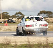 Oz Gymkhana #40 Old School Datsun by Stuart Daddow Photography