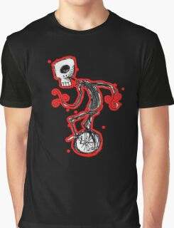 cyclops on a unicycle Graphic T-Shirt
