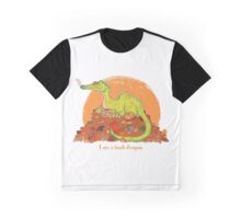I am a book dragon version 2 Graphic T-Shirt
