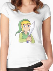 Toon Link Women's Fitted Scoop T-Shirt
