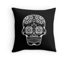 Mexican Skull 02 Throw Pillow