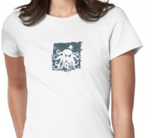 Cthulhu Enthusiast. Womens Fitted T-Shirt