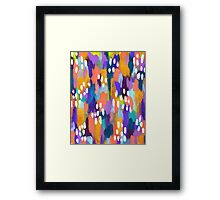 Jules - Abstract Framed Print