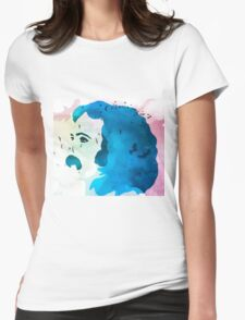 Music Is Love David Crosby Womens Fitted T-Shirt